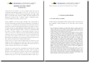 Chrétien de Troyes, Erec et Enide, La joie de la cour : étude