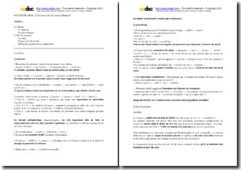 Arthur Rimbaud, Le Dormeur du Val : analyse
