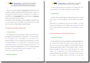 Charles Baudelaire, Une Charogne : commentaire composé