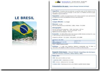 Note géopolitique sur le Brésil