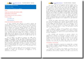 Conseils pour l'oral aux concours administratifs