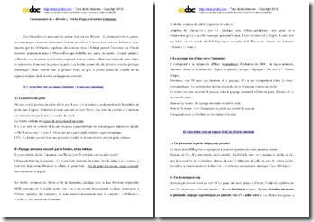 Victor Hugo, Les Orientales, Rêverie : commentaire composé