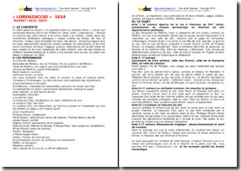 Introduction à l'étude de Lorenzaccio d'Alfred de Musset