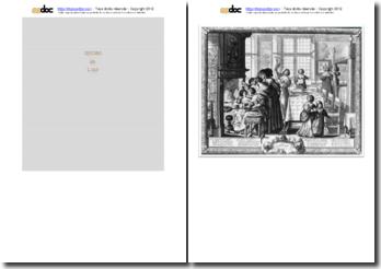 Abraham Bosse, L'hyver : étude de l'oeuvre