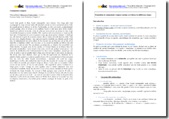 Chateaubriand, Mémoires d'outre-tombe : le portrait de Lucile : commentaire