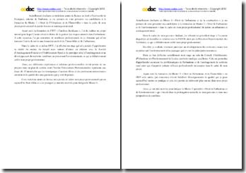 Lettres de motivation pour une candidature / intégration en Master de Droit