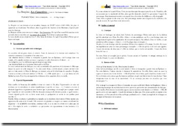 La Bruyère, Les Caractères, Livre 6, Le portrait d'Irène : commentaire composé