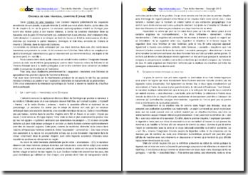 Luis Cardoso, Cronica de uma Travessia, Chapitre 8, Extrait : commentaire composé