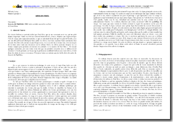 Paul Klee, Senecio : analyse artistique et didactique