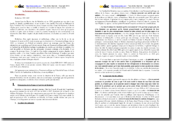 Richelieu, Testament politique, 1ère partie, Chapitre 1 : analyse