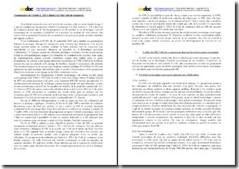 Commentaire de l'article L. 251-1 alinéa 2 et 3 du Code de commerce : les GIE
