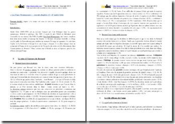 André Gide, Les faux-monnayeurs, Chapitre 13, Extrait : commentaire composé