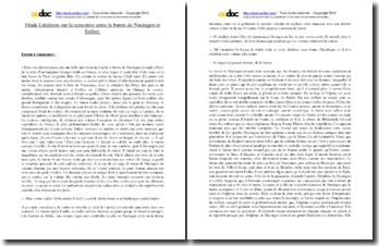 Balzac, Splendeurs et misères des courtisanes, Extrait : étude littéraire