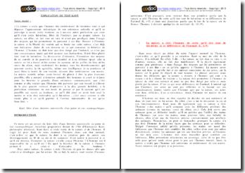 Kant, Idée d'une histoire universelle d'un point de vue cosmopolitique, Extrait : explication de texte