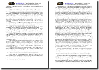 Conseil d'Etat, 22 décembre 2012, Observatoire international des prisons et autres
