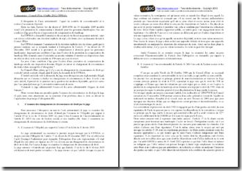 Conseil d'Etat, 4 juillet 2012, CFPSAA, L'abrogation de l'acte administratif