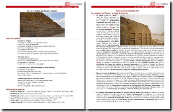 Le roi et l'élite à l'Ancien Empire égyptien