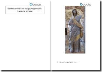 Identification d'une sculpture grecque : la dame en bleu