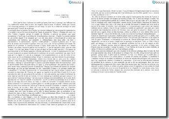 L'oeuvre, Chapitre IX - Emile Zola