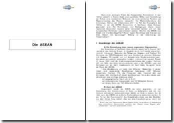 Die ASEAN