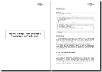 Yelloh! Village, der deutsche Tourismus in Frankreich