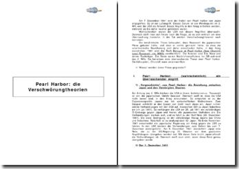 Pearl Harbor: die Verschwörungtheorien