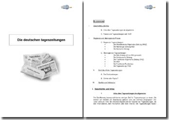 Die Deutschen Tageszeitungen