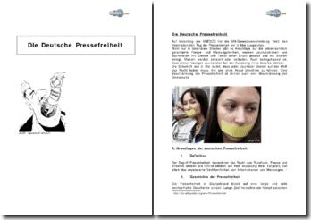 Die Deutsche Pressefreiheit
