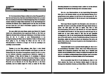 S. Zweig, Schachnovelle : Dr. B, Vorstellung