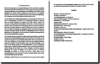 Dissertation type en allemand sur la désertification de la mer d'Aral
