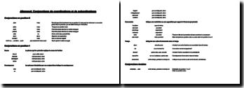 Conjonctions de coordination et de subordination en allemand