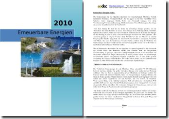 Erneuerbare Energien (Solar)