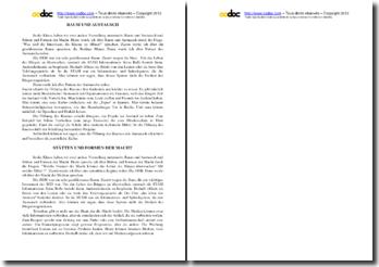 Oral d'allemand BAC : Espaces et échanges et Lieux et formes de pouvoir