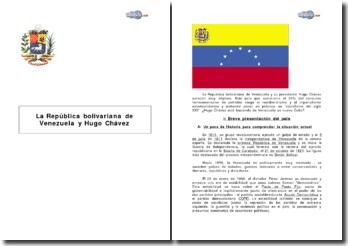 La República bolivariana de Venezuela y Hugo Chavez