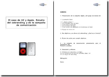 El caso de U2 y Apple. Estudio del cobranding y de la campaña de comunicación