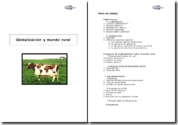Globalización y mundo rural