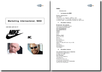 Marketing international, Nike
