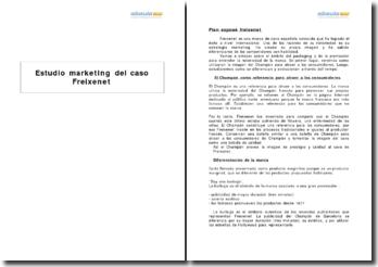 Estudio marketing del caso Freixenet