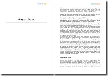 eBay et Skype