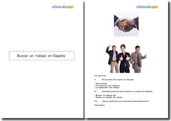 Buscar un trabajo en España