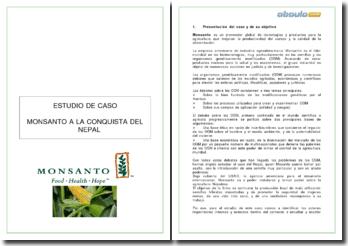Monsanto a la conquista del Nepal