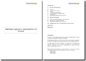 Identidad regional y nacionalismo en Francia