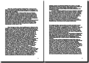 Cesar aira: dissertation sur l'oeuvre la liebre
