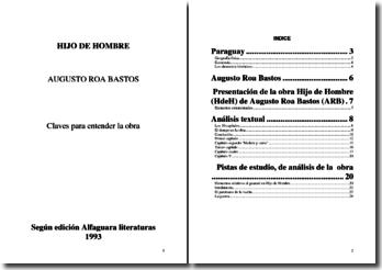 Augusto Roa Bastos, Hijo de Hombre