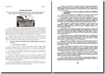 Las Abuelas de la Plaza de Mayo
