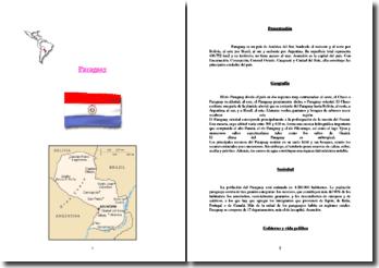 Paraguay, presentación del país