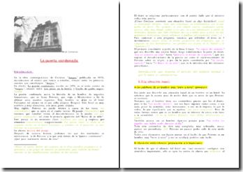 Julio Cortázar, La puerta condenada (análisis)