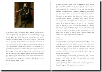 Velázquez, El príncipe Baltasar Carlos (análisis)