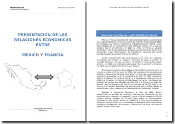 Relaciones económicas entre México y Francia