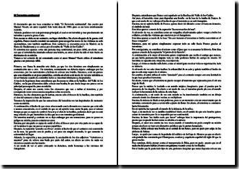 Manuel Vicent, Crónicas urbanas, El terrorista sentimental : comentario
